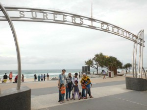 Us at Surfers Paradise