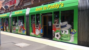 LightRail to Paddy's Market